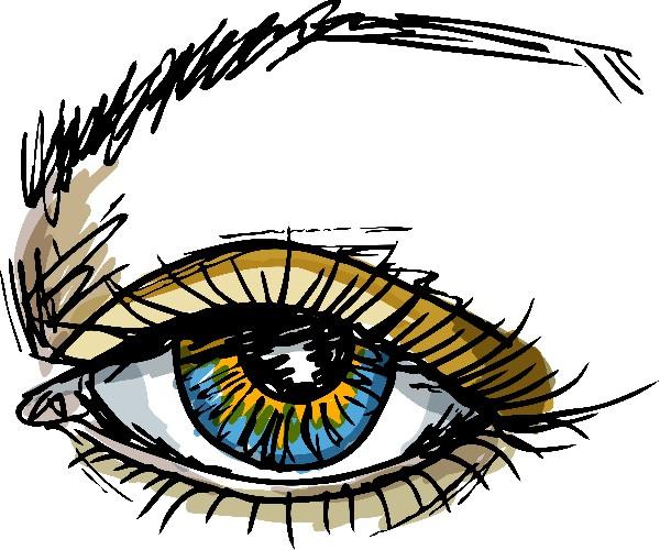 Les cils et les sourcils vous définissent parfaitement. Tout est dans le regard.